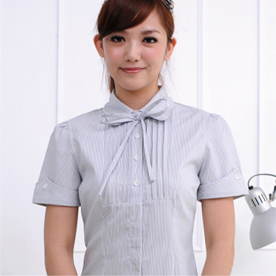 HY-711AB-條紋襯衫(綁帶)